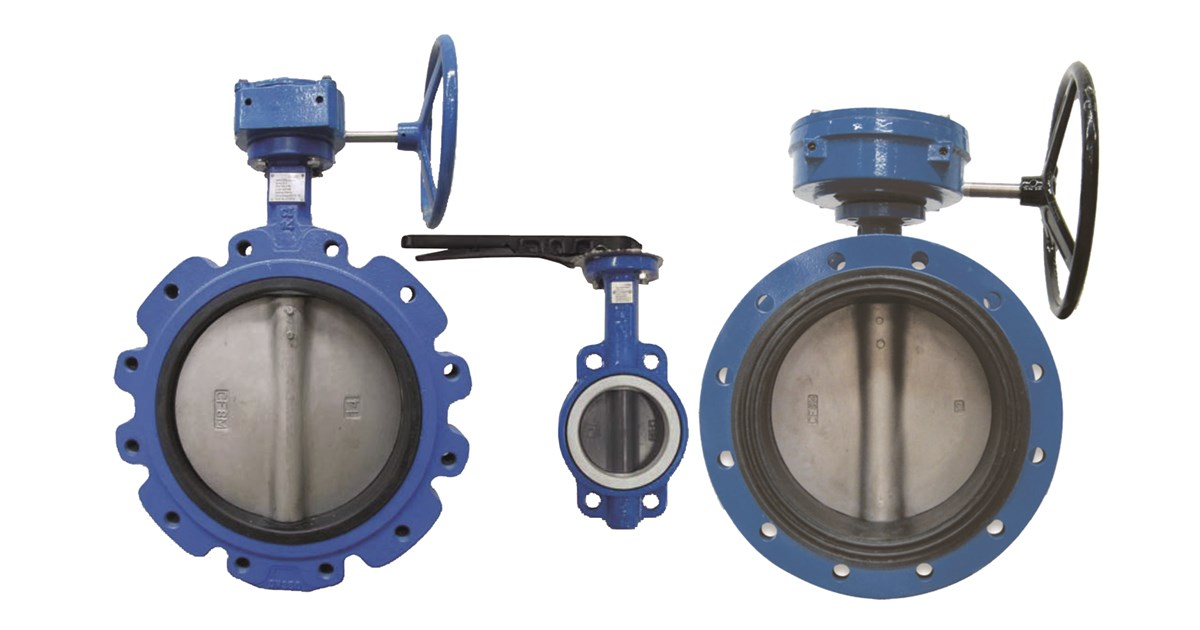 AB Series - Wafer/Lugged Butterfly Valves