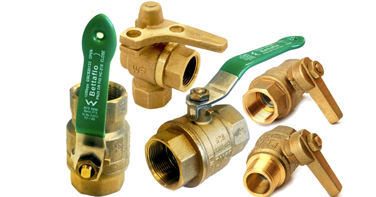 Water Service Ball Valves AS 4796
