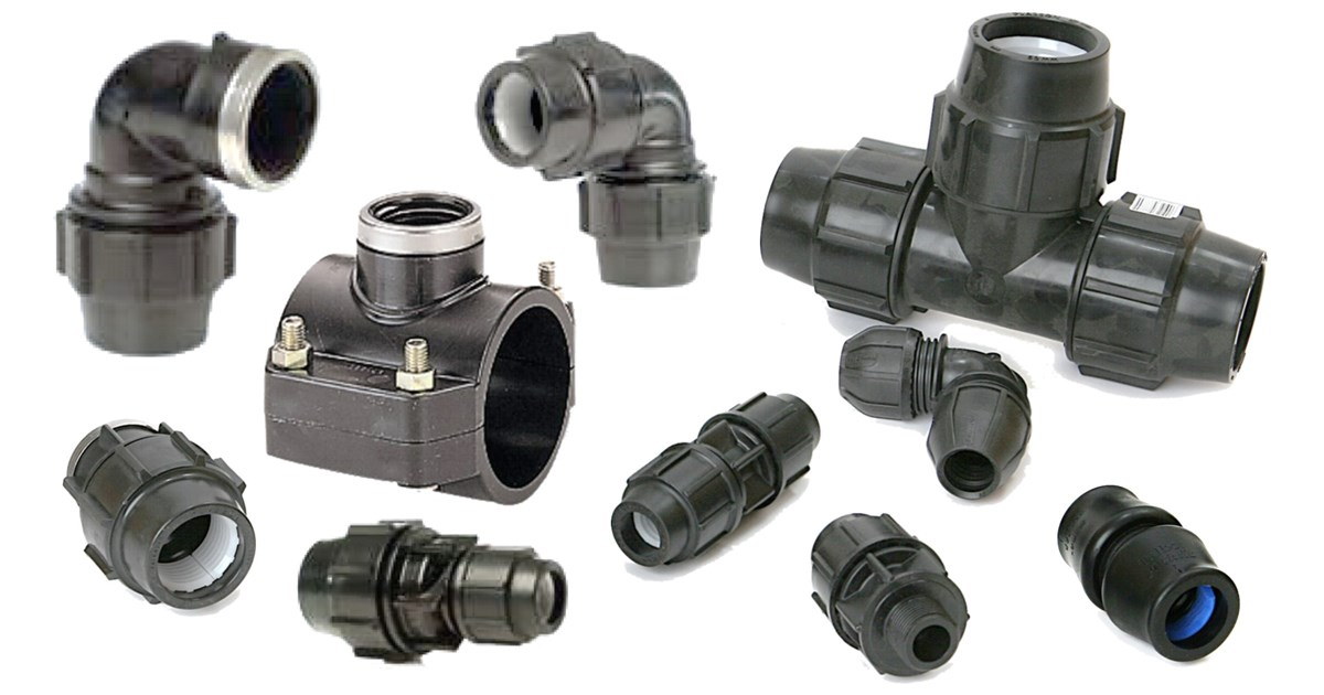 PE Compression Fittings
