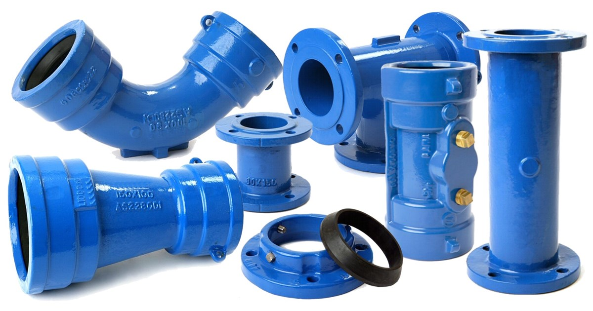 Civilpipes ductile iron fittings